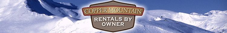 Copper Mountain Rentals By Owner Logo